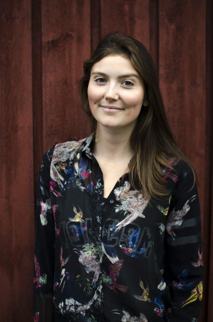 Vilde Håvardsrud, 22 år og leder for Grønn Ungdom Buskerud